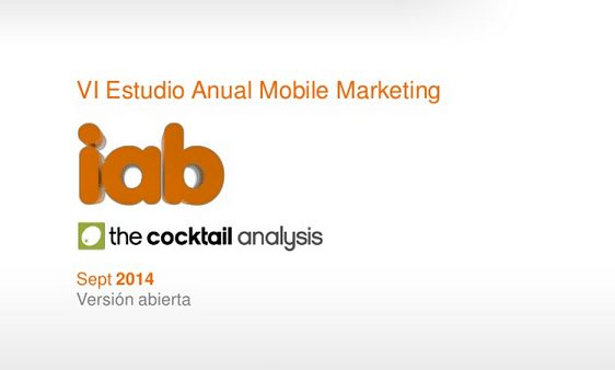 VI Estudio Anual de Mobile Marketing