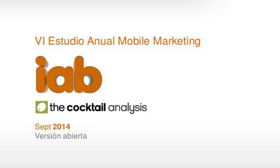 VI Estudio Anual de Mobile Marketing