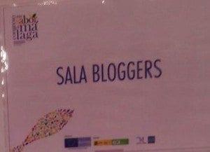 Foto sala bloggers Congreso Sabor a Málaga