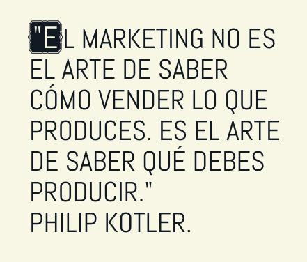 Philip Kotler - El Marketing no es vender, sino saber qué vender