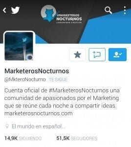 #MarketerosNocturnos CongresoMN Málaga
