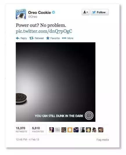 Marketing con Humor en la Super Bowl con Oreo