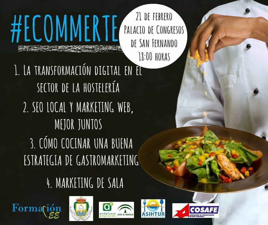 Cartel #eCommerte San Fernando