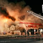 Burger King On Fire
