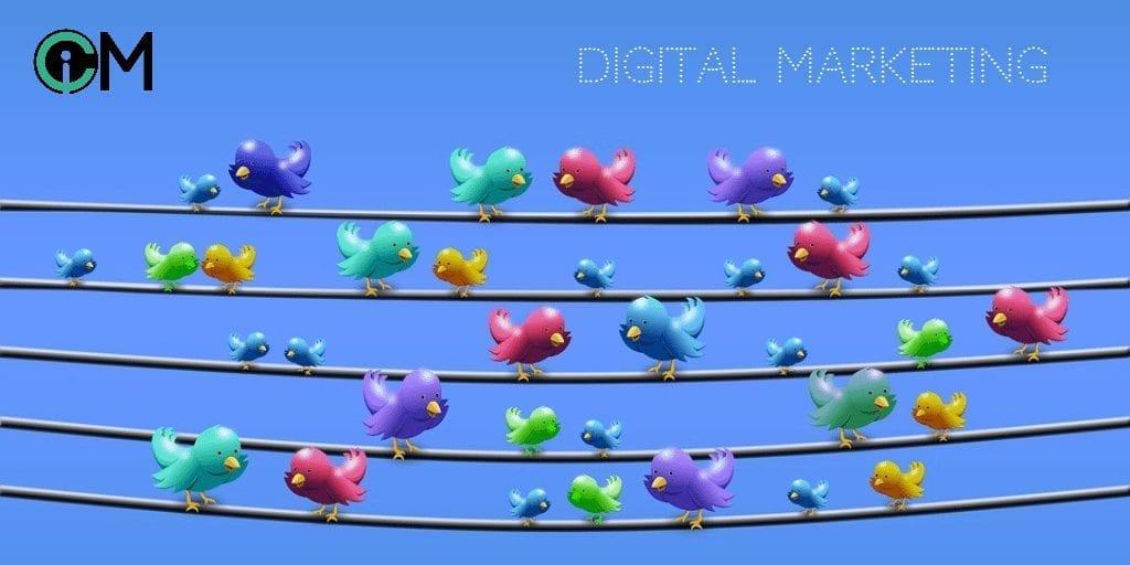 Digital Marketing Twitter Wall