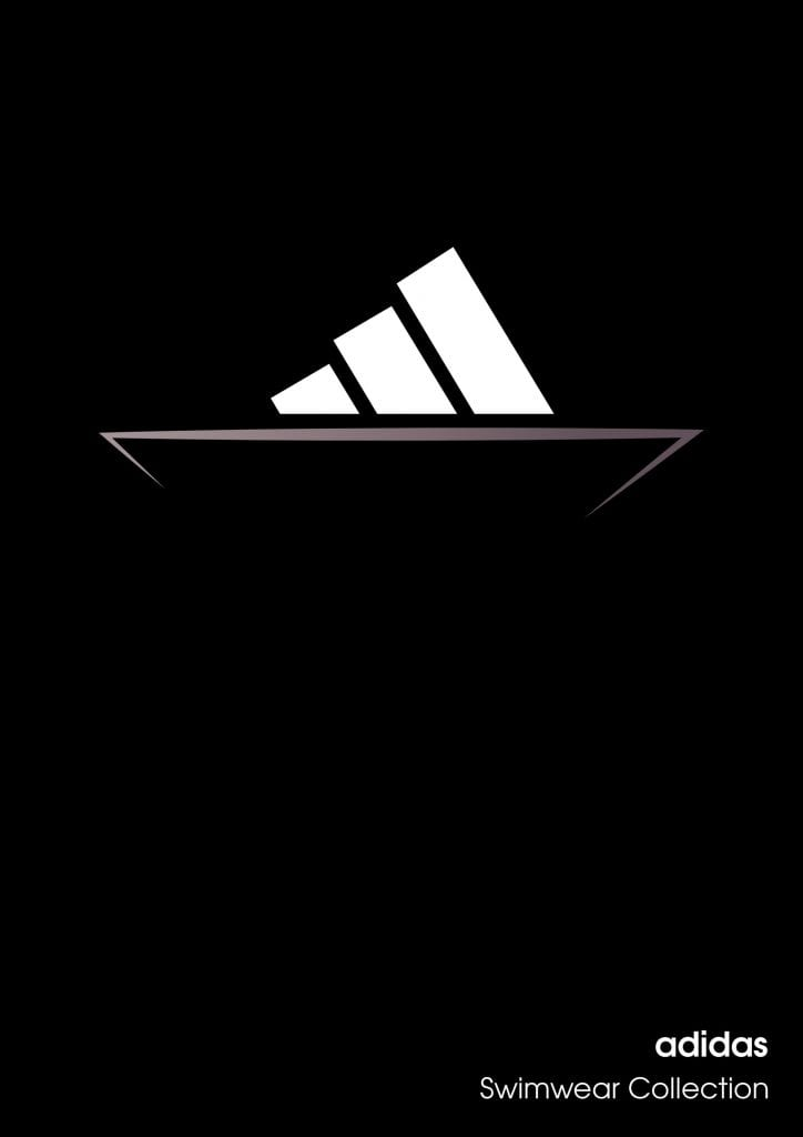 Adidas Swimwear Collection Logo boat_1